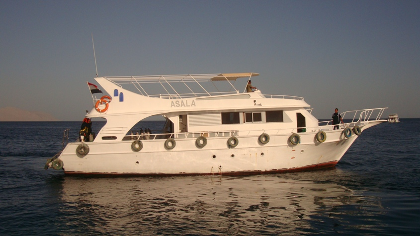 SHARM EL SHEIKH DIVING - Our boat Asala for daily diving in Sharm el Sheikh