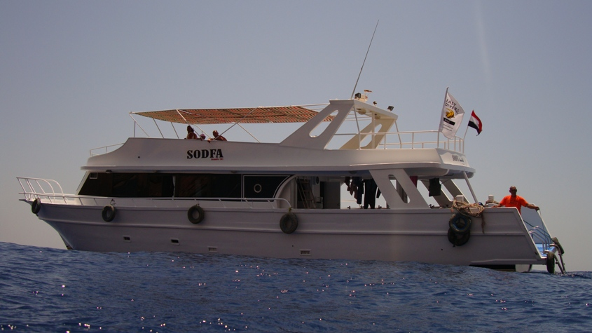 RED SEA DIVING - Our boat Sodfa for daily diving in Sharm el Sheikh