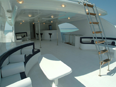 Top Deck on My/Y Sweet Dream Liveaboard Motor Yacht in Marsa Alam Egypt