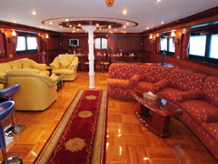 Interior of My/Y Sweet Dream Liveaboard Motor Yacht in Marsa Alam Egypt
