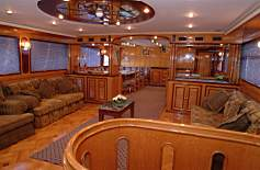 Interior of M/Y Discovery Liveaboard Diving Motor Yacht in Marsa Alam Egypt
