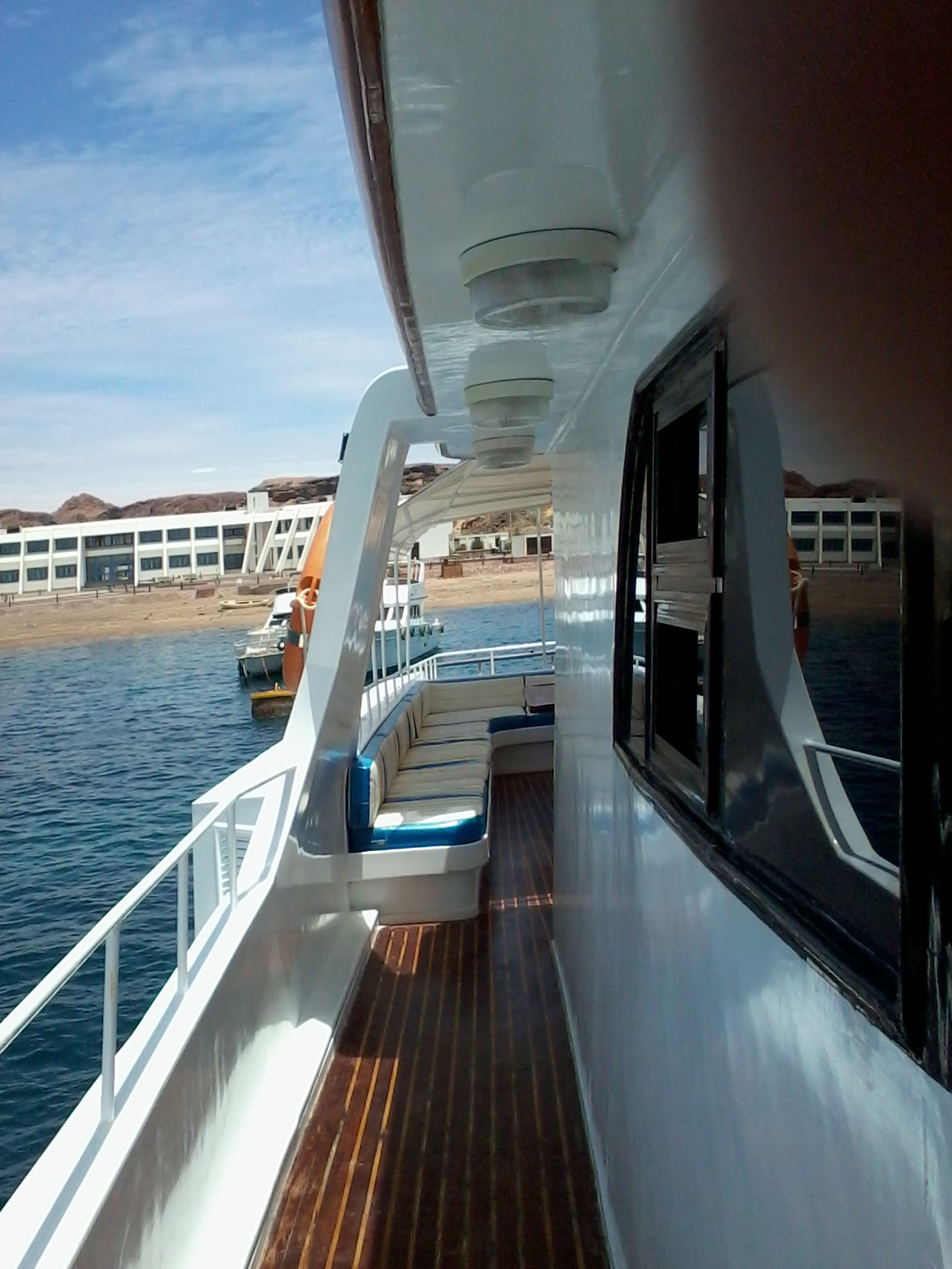 Lounge & Bar on M/Y Donia Liveaboard Yacht in Sharm el Sheikh Egypt