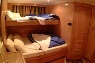 Double Cabin on M/Y Excellence Liveaboard Diving Motor Yacht in Marsa Alam Egypt