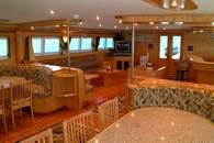 Interior of M/Y Excellence Liveaboard Diving Motor Yacht in Marsa Alam Egypt
