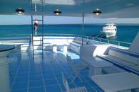Upper Deck on M/Y Excellence Liveaboard Diving Motor Yacht in Marsa Alam Egypt
