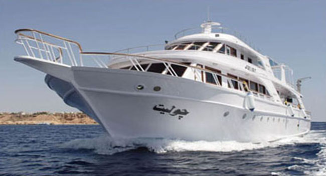 M/Y Juliet Luxury Motor Yacht Diving Liveaboard in Sharm el Sheikh, Egypt