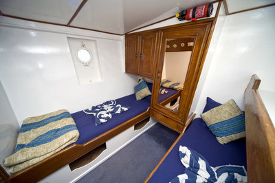 Double Cabin on King Snefro 3 Liveaboard Diving Motor Yacht in Sharm el Sheikh Egypt