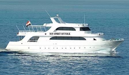 M/Y Spirit of Folk Liveaboard Diving Motor Yacht in the South Red Sea Egypt